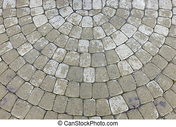 gray paving slabs - Abstract background - gray paving slabs...
