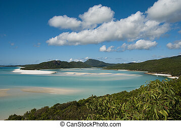 Whitehaven Beach, Queensland, Australia, August 2009 - A...