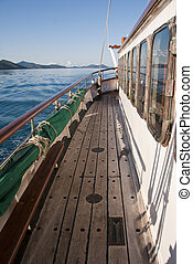 Sailing the Whitsundays, Queensland, Australia, August 2009...