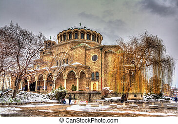 St Nedelya Church in Sofia - Bulgaria