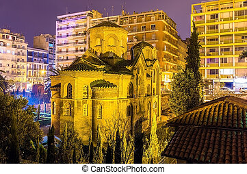 Church of Panagia Chalkeon in Thessaloniki - Greece