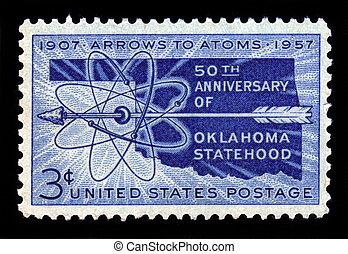 Oklahoma Statehood, 50th Anniversary