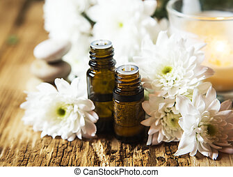 Aromatherapy Oils - Flowers Aromatherapy Essential Oils with...
