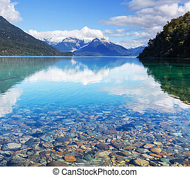 Patagonia landscapes in Argentina