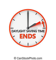 daylight saving time - time change to daylight saving time...