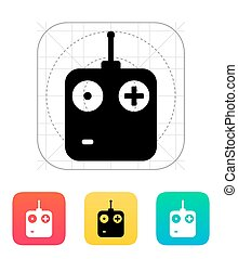 Remote control icon Vector illustration