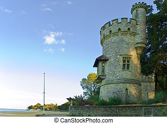 Appley tower - an image of the famous Victorian folly Appley...