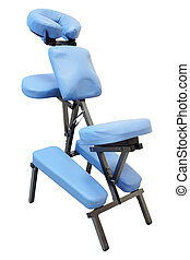 massage chair  - Blue massage chair