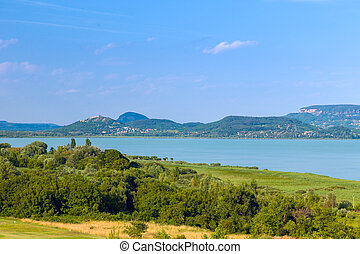 Landscape at Lake Balaton, Hungary