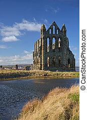 Whitby Abbey view