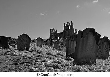 Whitby graves