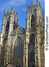 York Minster - west front of York Minster
