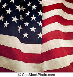 Fahne,  USA