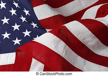 USA, drapeau,
