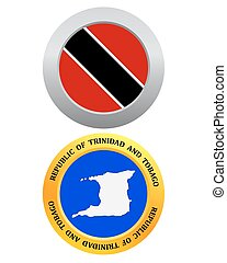 button as a symbol Republic of Trinidad and Tobago