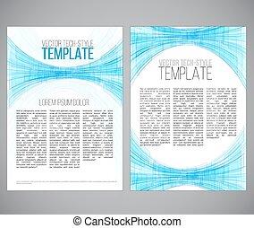 Scifi template - Sci-fi style template Vector illustration...