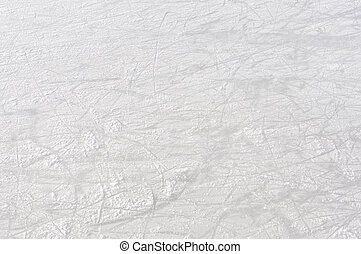 Ice rink background - Empty Ice rink background on natural...