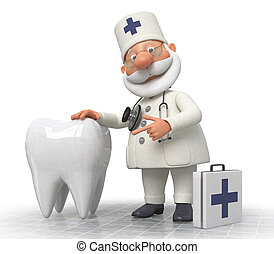 doctor dentist - treatment of teeth necessary procedure of...