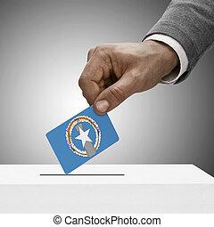 聯邦, 概念, 不, 旗,  -, 黑色, 藏品, 投票, 男性
