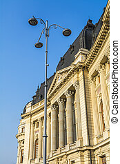 historical building in Bucharest Romania