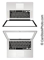 Apple macbook pro and macbook air
