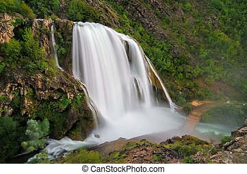 Krcic waterfall