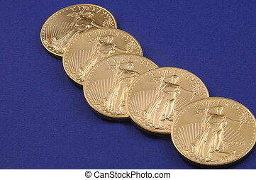 Gold Coins - American Eagle Gold Coins