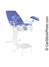 gynecological chair - The image of blue gynecological chair...
