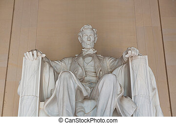 Abraham Lincoln Memorial building Washington DC US USA