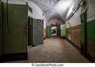 Abandoned prison, Patarei in Tallinn, Estonia - abandoned...