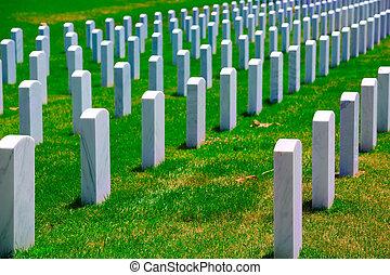 Arlington National Cemetery VA near Washington DC -...