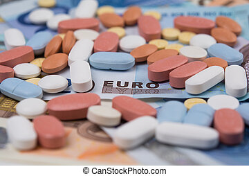 Drugs costs euros