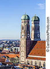 The Frauenkirche is a church in the Bavarian city of Munich...