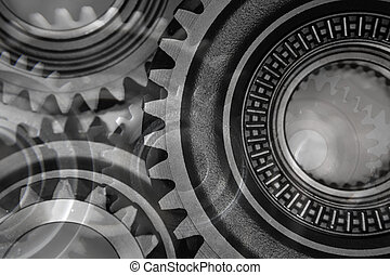 Gears - Montage of various steel gears
