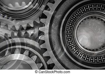 Gears - Montage of various steel gears