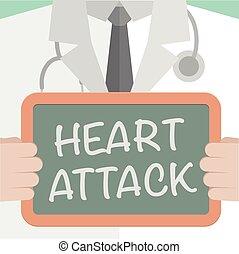 Coração, ataque,