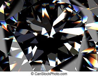 Diamond. Jewelry background