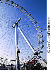 London Eye Millennium ferris wheel in England