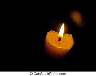 candlelight - photo