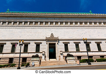 The Corcoran Gallery of Art in Washington DC US