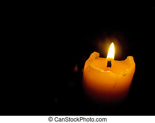 candle light - photo