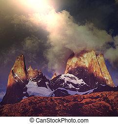Fitz Roy - Cerro Torre in Argentina