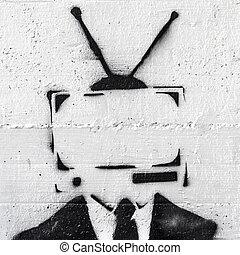 televisão,