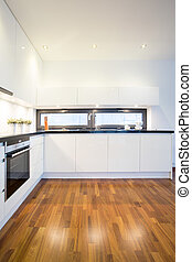 Spacious kitchen in the house