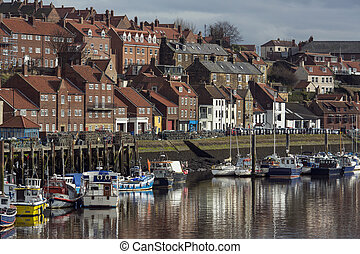 Port of Whitby - North Yorkshire - England - Part of the...