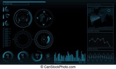 Animation technology GUI - Animation of the technology...