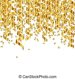 Vector Golden Party Background
