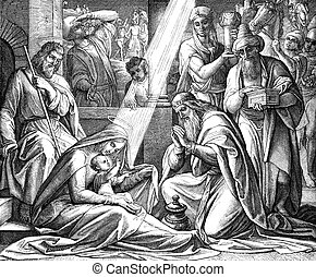 Adoration Of The Magi - The Adoration of the Magi from a...