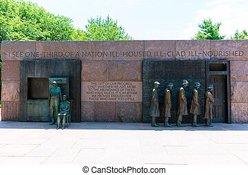 Franklin Delano Roosevelt Memorial Washington - Franklin...