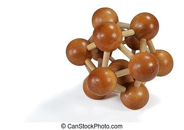 Wooden logic toys - Wooden Brain Teaser